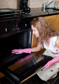 How to Clean Kitchen Stove